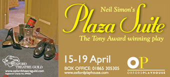Daily Info, Oxford Events: Neil Simon's Plaza Suite at the Oxford Playhouse 15th - 19th April