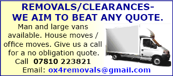 Removals/clearances - we aim to beat any quote. 07810 223821