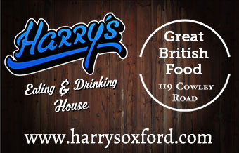 Harry's Oxford, Eating and Drinking House, 119 Cowley Road