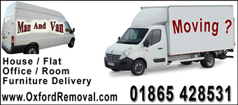 Oxford Removal - light removals around the Oxford area and across the UK. 10% student discount.