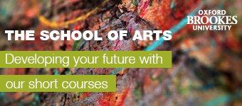 Oxford Brookes School of Arts, developing your future with short courses