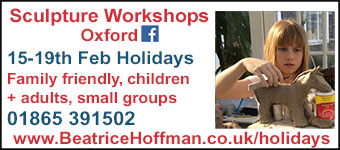 Sculpture Workshops Oxford, 15-19 February.