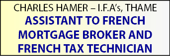 Charles Hamer seeks ASSISTANT TO FRENCH MORTGAGE BROKER and FRENCH TAX TECHNICIAN