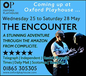 Oxford Playhouse presents Encounter, 25-28 May 2016