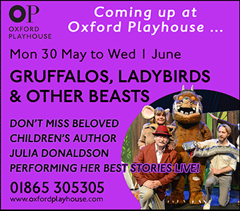Oxford Playhouse presents Gruffalos, Ladybirds & Other Beasts 30 May - 1 June 2016