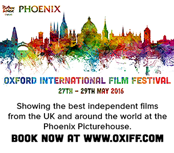 Oxford International Film Festival - 27th to 29th May