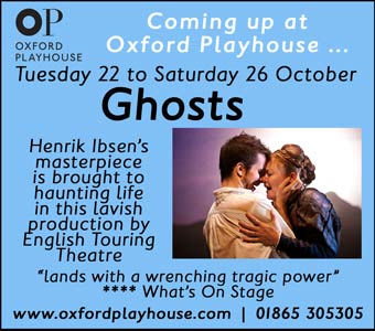 Henrik Ibsen's Ghosts, Oxford Playhouse, 22nd - 26th October