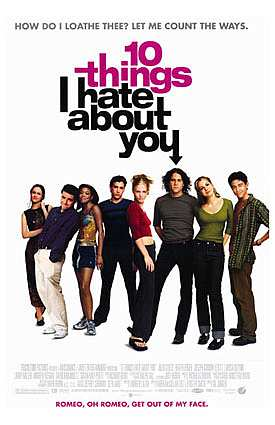 ten things i hate about you essay