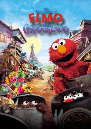����� ����� - ����������� ���� / Sesame Street - The Adventures of Elmo in Grouchland (1999, ������� ��������������-�������������� ��������, DVDRip)