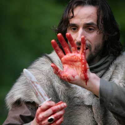 use of blood in macbeth William shakespeare uses imagery, or symbolic language that evokes a visual image, to emphasize the main themes in 'macbeth' this lesson will discuss the examples of.