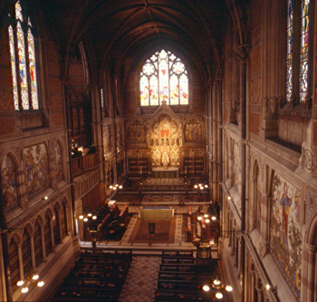 Keble College Chapel Daily Info