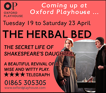 The Oxford Playhouse presents The Herbal Bed, 19-23 April