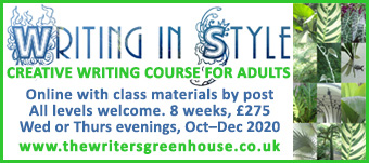 Learn Writing in Style, with The Writers' Greenhouse - online creative writing course for adults