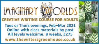 Explore Writing Imaginary Worlds, with The Writers' Greenhouse - online creative writing course for adults