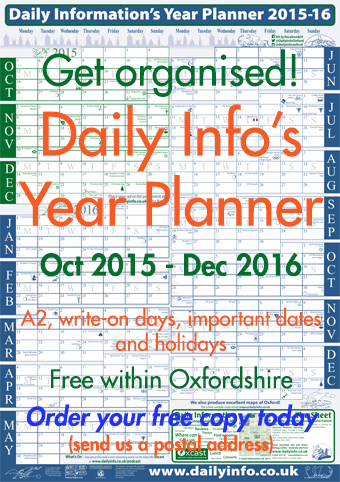 Get Daily Info's new 2015-16 Year Planner now
