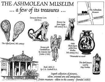 The Ashmolean cartoon