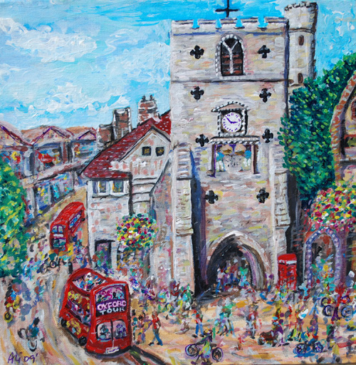 Carfax Tower by Ali Clements