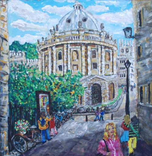 Radcliffe Camera by Ali Clements