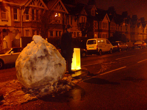 Snowball crossing, Cowley Road, Oxford