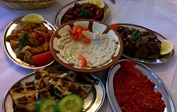 Photo of mezze at Al-Shami